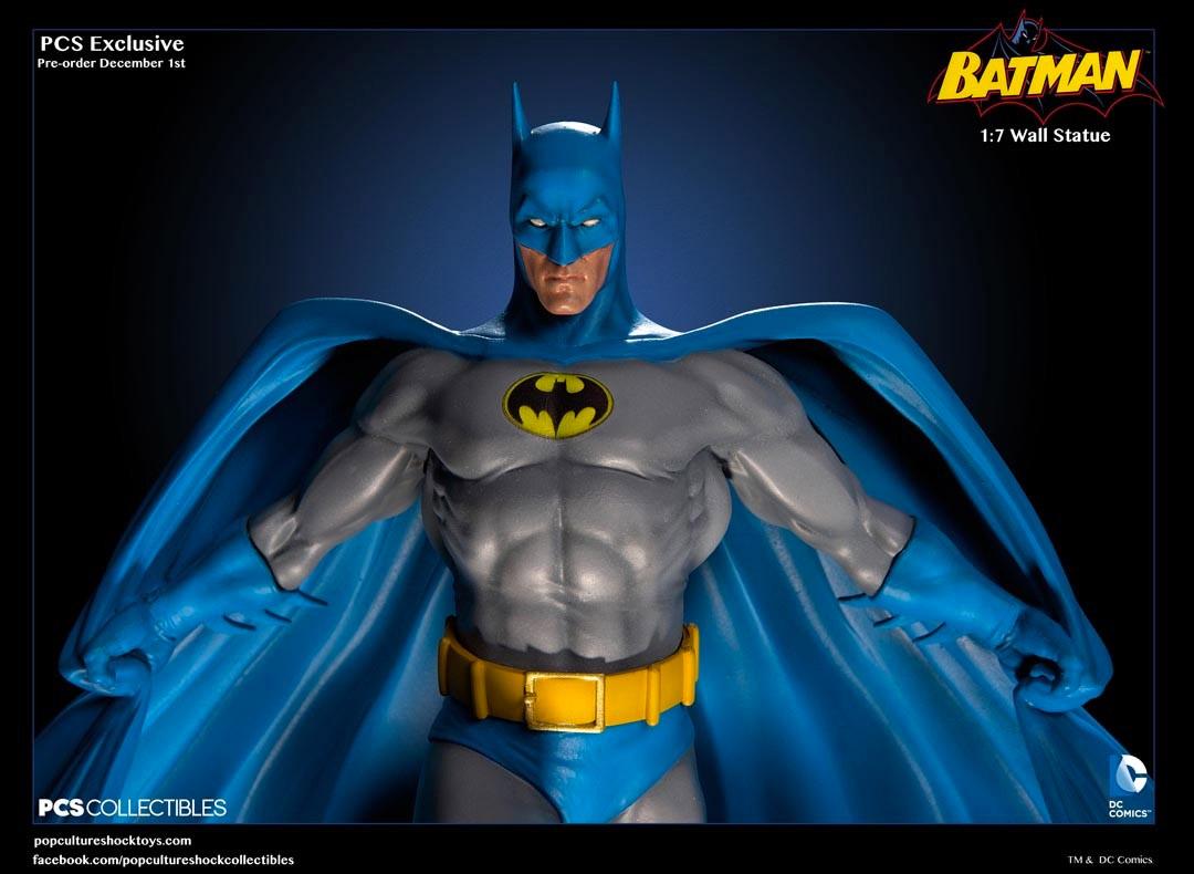 sc 1 st  MightyMega & PCS u002770s Style Batman Wall Statue - MightyMega