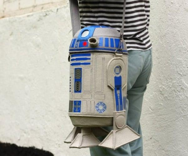 Star Wars Felt R2-D2 Droid Purse