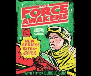 Star Wars The Force Awakens Wax Pack T-Shirts