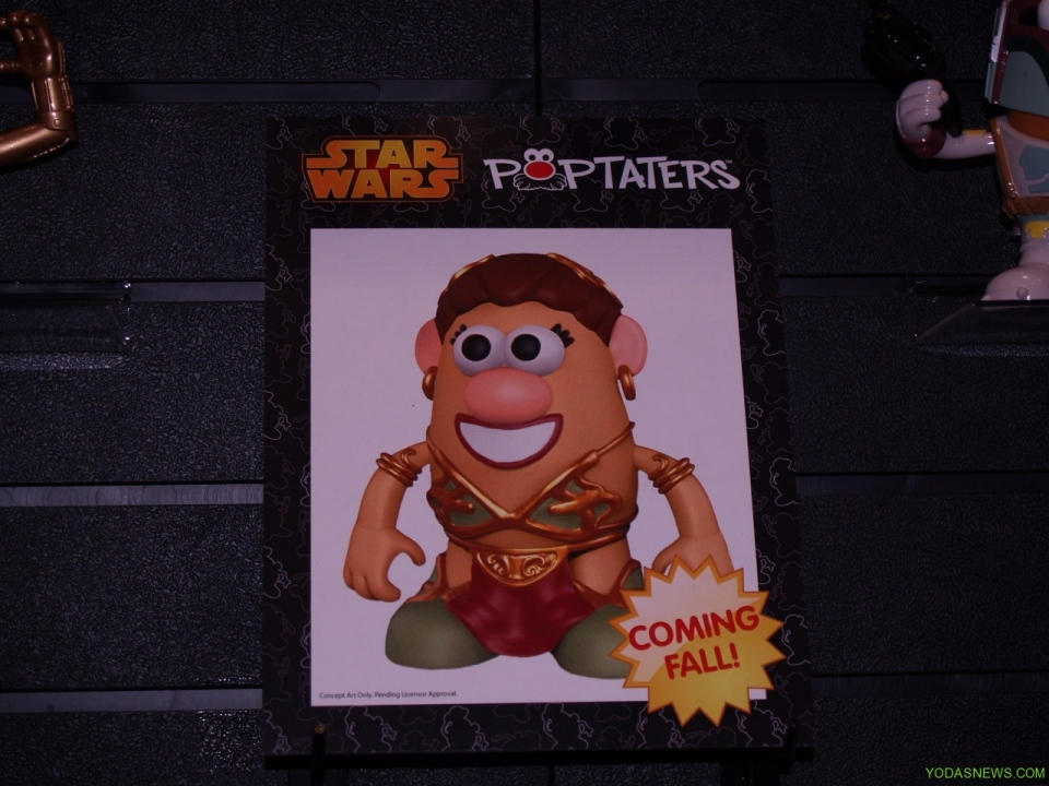 Slave Leia Poptater Potato Head Coming Soon