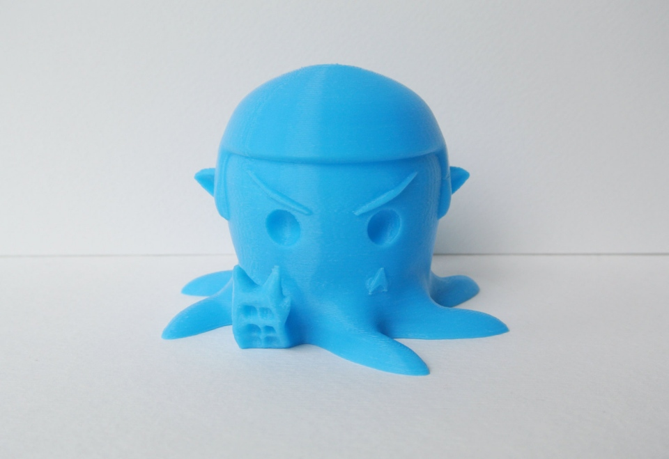 3D-Printed Spocktopus: Eight Arms to Scold You