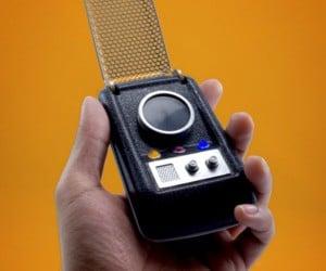 Star Trek Communicator w/ Sound Effects
