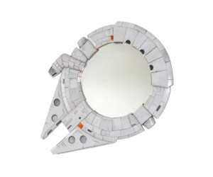 Star Wars Millennium Falcon and R2-D2 Mirrors