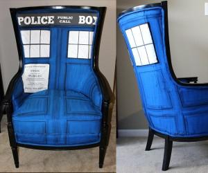 TARDIS Chair: Comfier on Your Backside