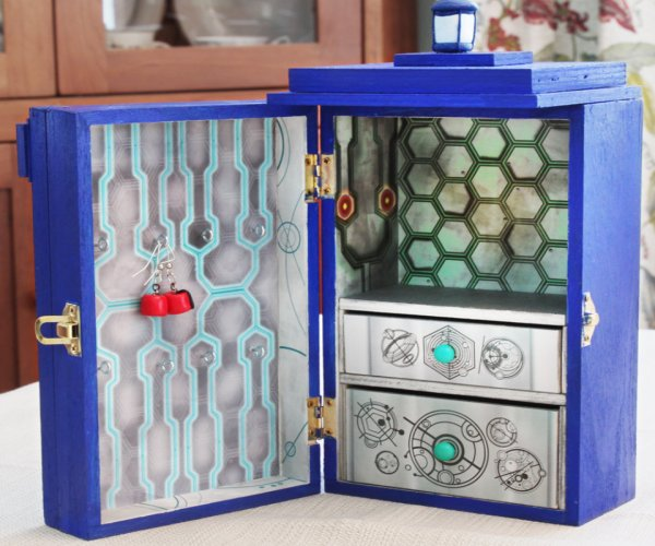 TARDIS Jewelry Box: Time and Space for Your Jewelry
