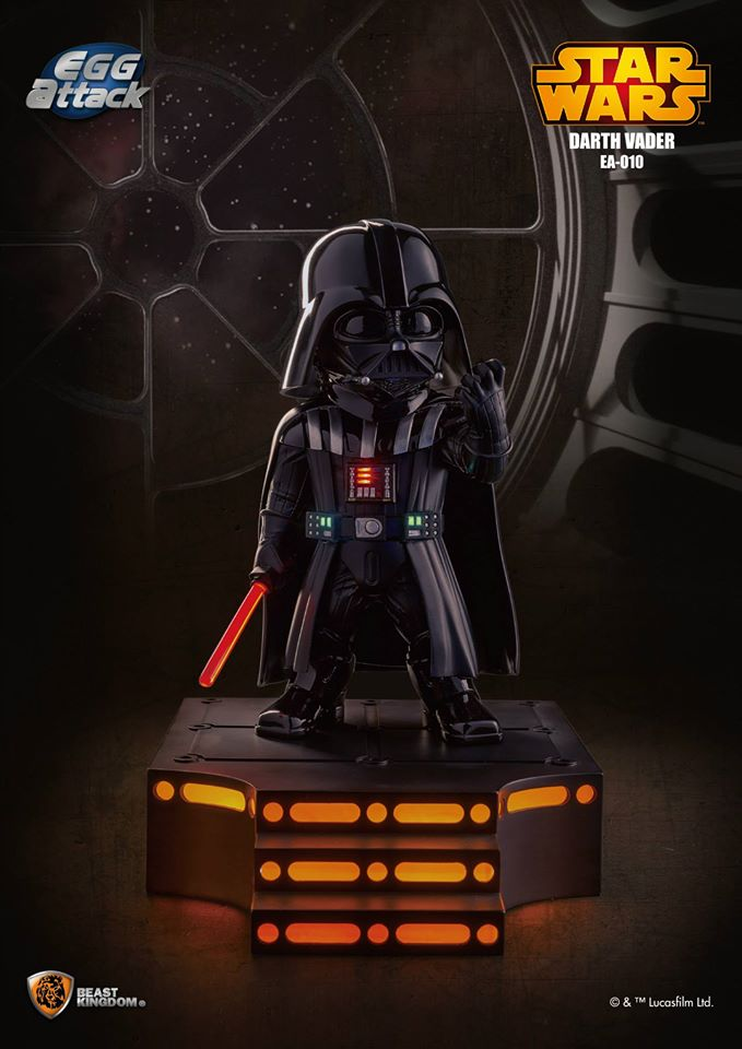 Star Wars Darth Vader Egg Attack Statue