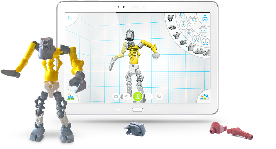 Design 3d Printable Action Figures With Tinkerplay