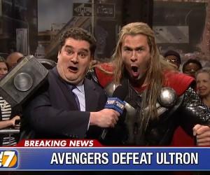 SNL: Avengers Defeat Ultron