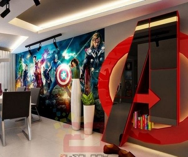 Avengers Themed House: Assembled