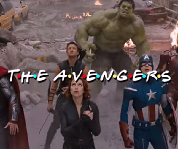 The Avengers Get a Friends Style Intro