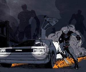 Wolverine Goes Back to the Future