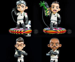 QMX Q-Pop Ghostbusters Vinyl Figures