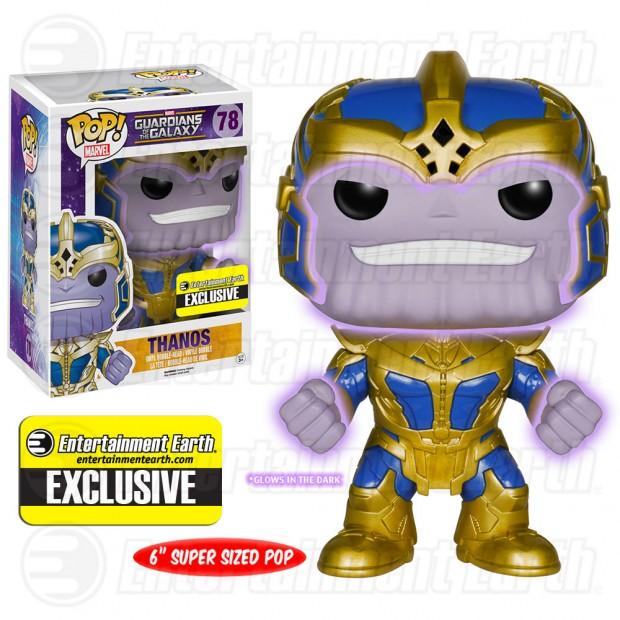 Funko Pop Thanos Glows In The Dark