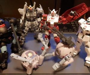 Fan Paints Gundam as Classic Consoles