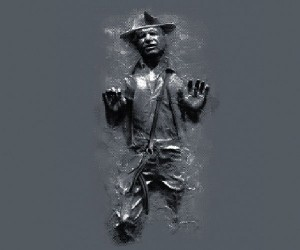 Indiana Jones Trapped in Carbonite T-Shirt