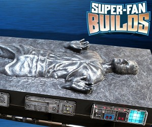 Han Solo in Carbonite Coffin Coffee Table