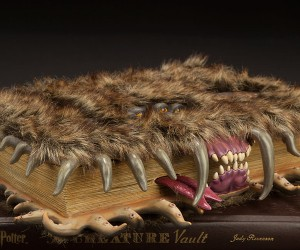 Harry Potter Monster Book of Monsters Official Replica