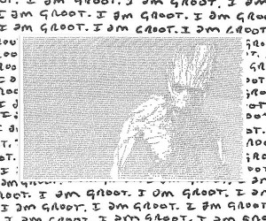 "Amazing ""I Am Groot"" Art by Mike Matola"