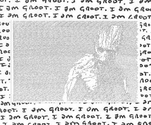 "Amazing ""I Am Groot"" Art by Mike Matola"