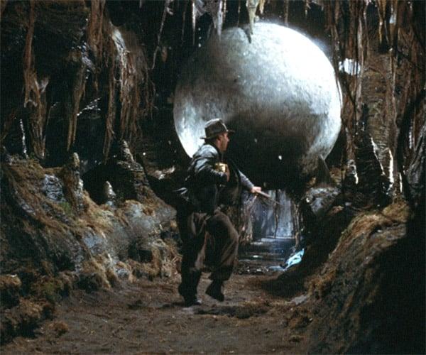 Inside Raiders of the Lost Ark's Boulder Scene