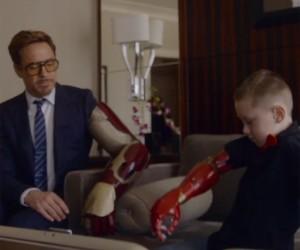 Iron Man Delivers Kid's Robotic Arm
