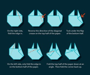 Build Your Own Millennium Falcon Origami