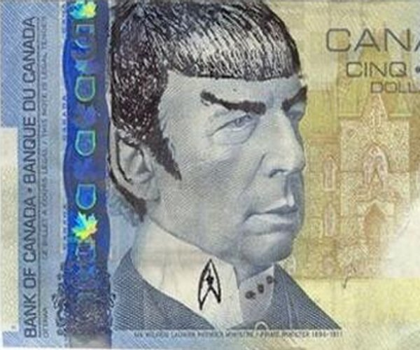 "Canada Is ""Spocking Fives"" to Honor Leonard Nimoy"