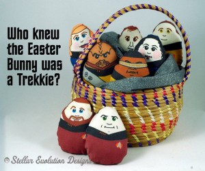Star Trek TNG Easter Plush Eggs