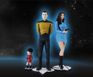 Cubify Can Turn You into a Star Trek Figurine