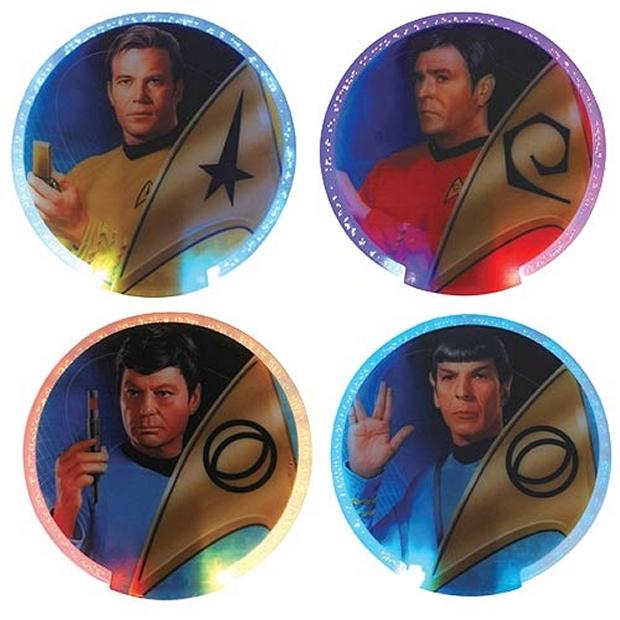 Star Trek Lighted Coasters