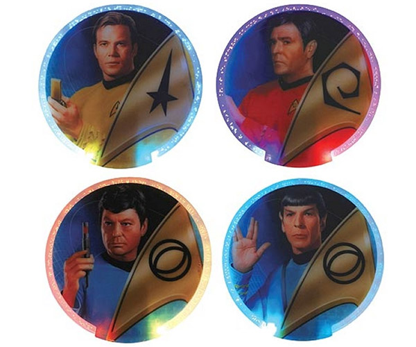 Star Trek Lighted Coasters