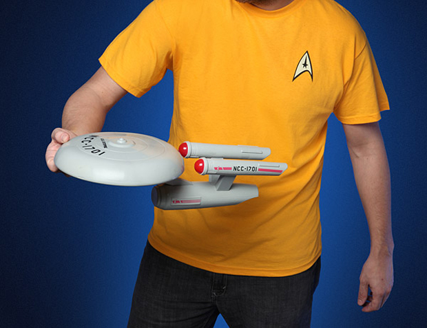Star Trek USS Enterprise Flying Disc: Live Long and Frisbee