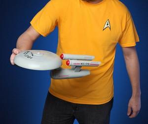 Star Trek USS Enterprise Flying Disc: Live Long and Frisbee