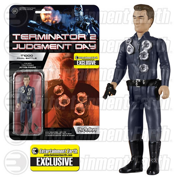 Terminator 2 T-1000 Final Battle ReAction Figure