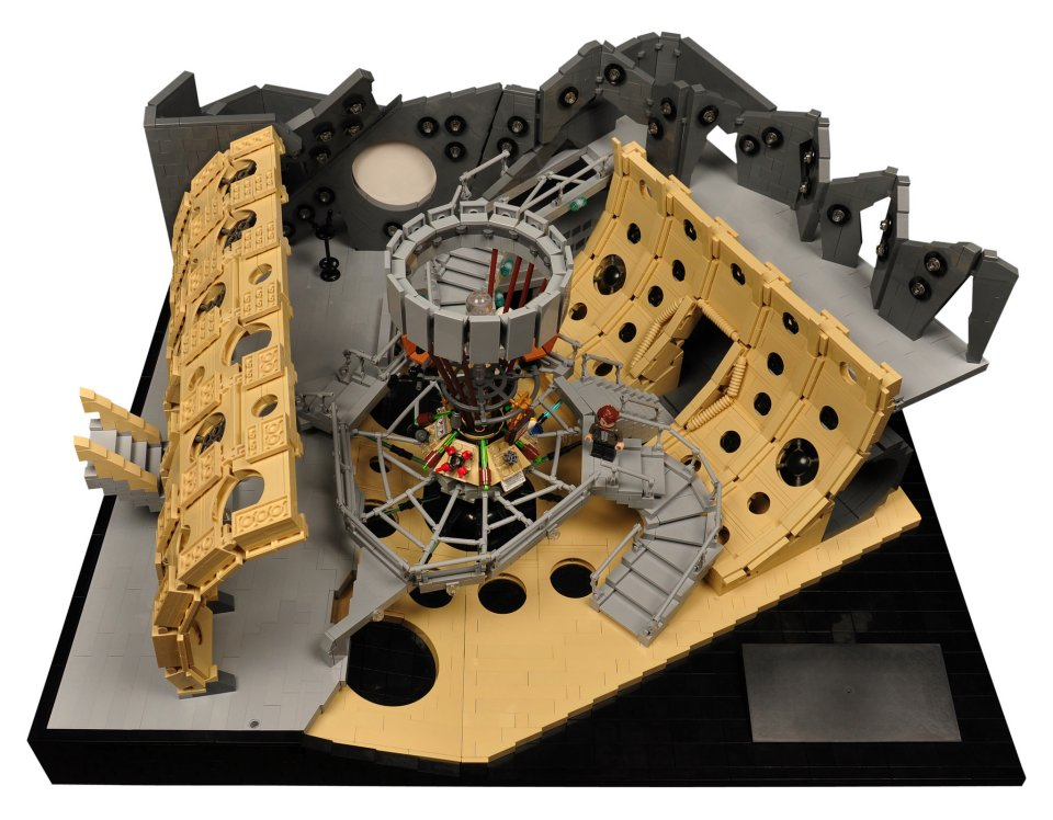 Lego Doctor Who  The 11th Doctors TARDIS Interior