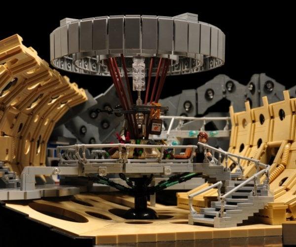 Amazing LEGO TARDIS Console Room