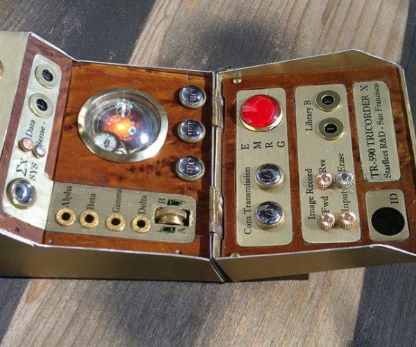 Steampunk Star Trek Tricorder