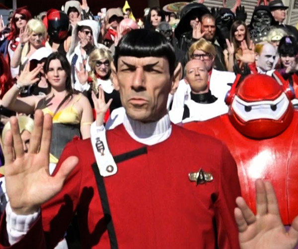 Calgary Expo 2015 Cosplay Video Brings Spock Back to Life