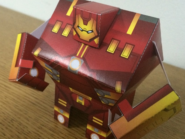 Hulkbuster Paper Toy