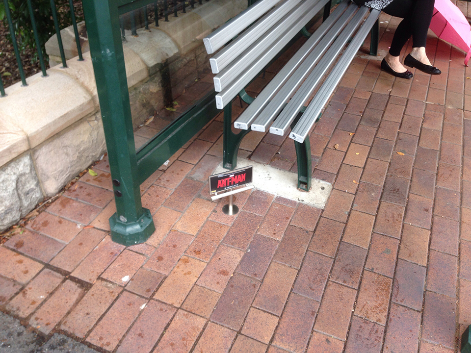 Tiny Ant-Man Billboards Spotted in Australia