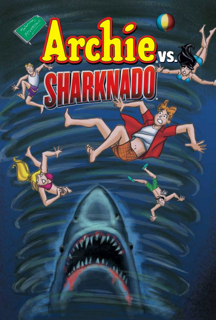 Archie vs. Sharknado: Yep, That's a Thing