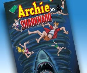 Archie vs. Sharknado: Yep, That's a Thing
