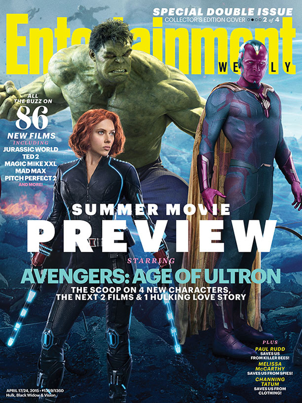 EW Reveals Vision and Age of Ultron Plot Point