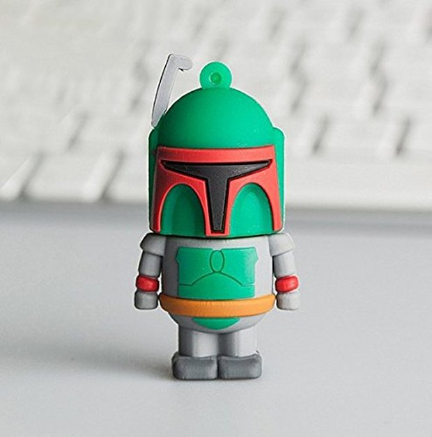 Star Wars Boba Fett Flash Drive