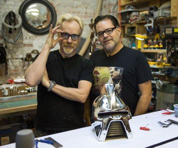 BSG's Aaron Douglas and Adam Savage Build Cylon Models