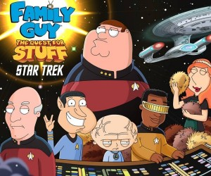 Family Guy Meets Star Trek in The Quest for Stuff