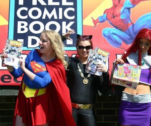 Free Comic Book Day is Coming