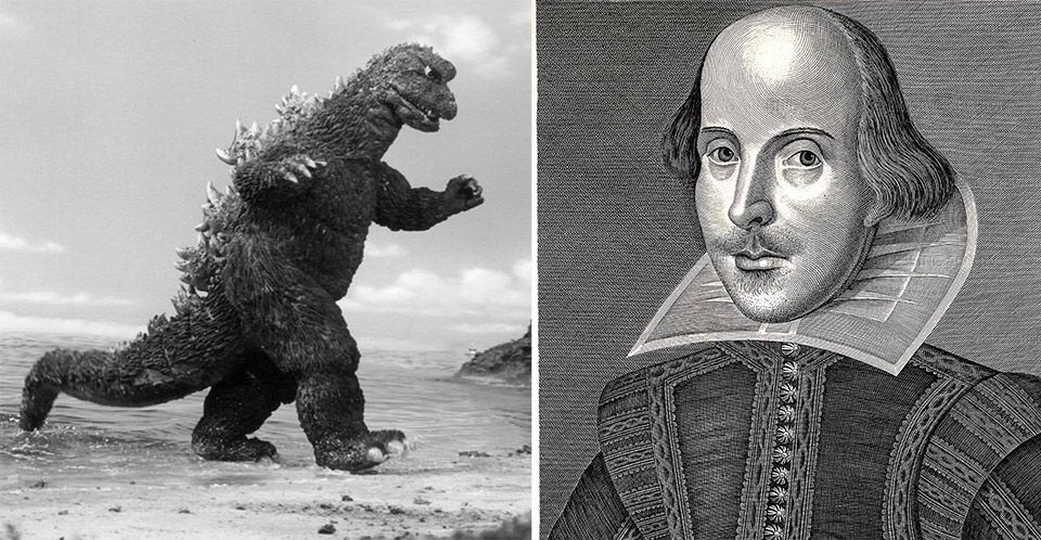 Godzilla vs. Shakespeare: The Bard Takes on the Beast