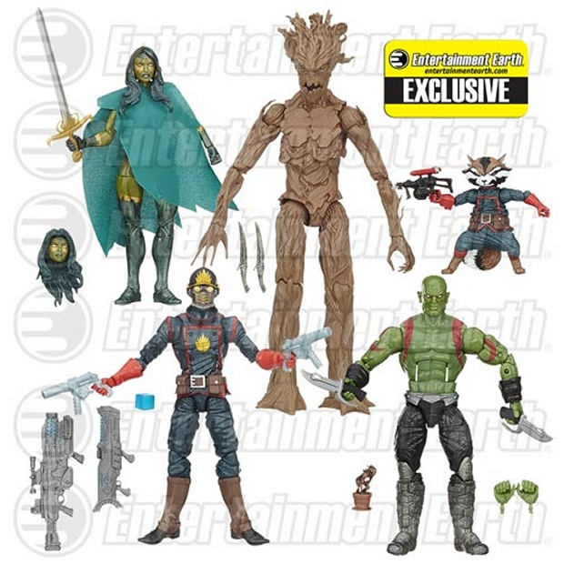 Guardians of the Galaxy Comic Marvel Legends Figures