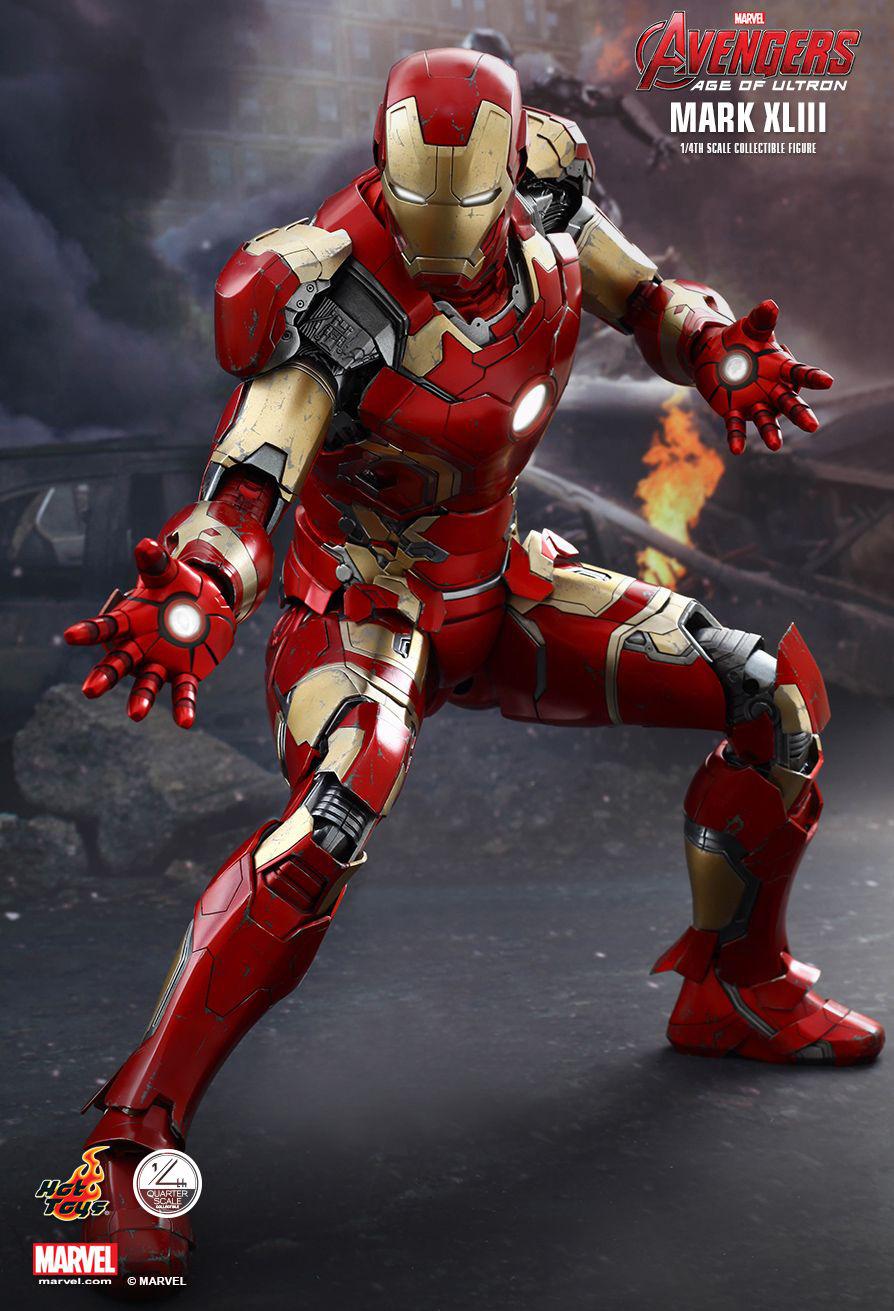 Toys For 20 : Hot toys quot iron man mk xliii figure mightymega
